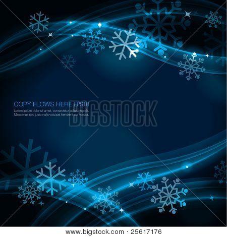 Contemporary Christmas background