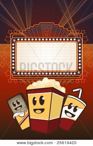 Movie Food Cartoons