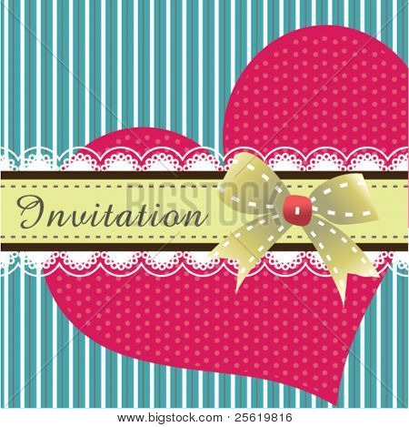 Invitation card design 02