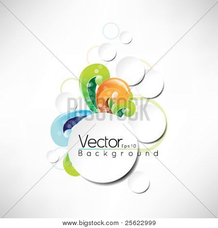 eps10 vector frame design multicolor design