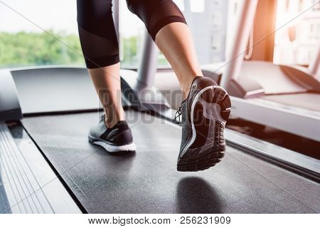 Woman Running Exercise