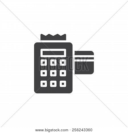 Pos Terminal Inserted Vector & Photo (Free Trial) | Bigstock