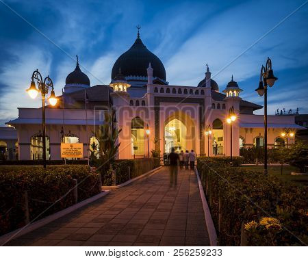 Kapitan Keling Mosque In Georgetown, Penang Malaysia