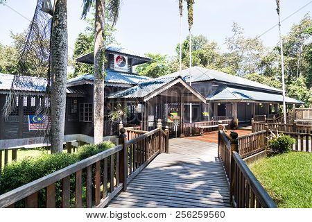 Miri, Sarawak, September 1St, 2018: Niah Cave Museum Is The First Stop Into Niah National Park, Sara