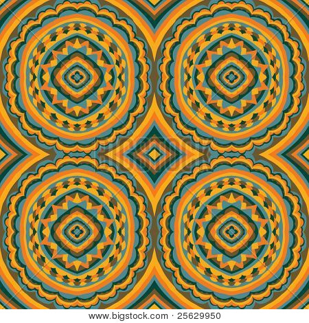 Hand gezeichneten seamless pattern