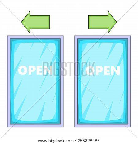 Storefront Icon. Cartoon Illustration Of Storefront Icon For Web Design