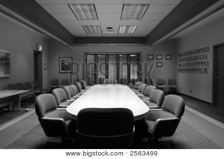 Board Room Black And White