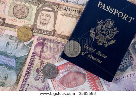 U.S. Passport And Foreign Money