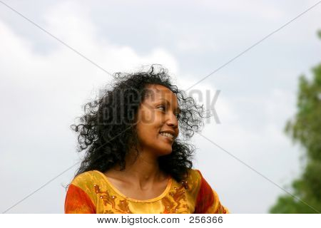 Beautiful Suriname Woman
