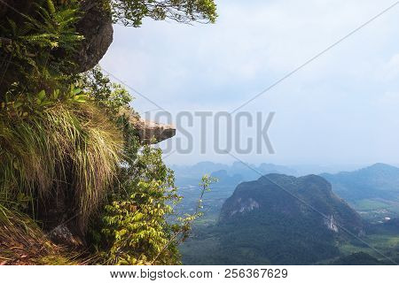 Ngon Nak Hill (dragon Crest) On The Tab Kak Hang Nak Nature Trail, Krabi Province, Thailand