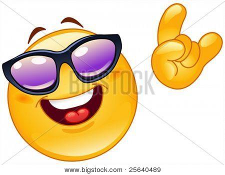 Funky emoticon