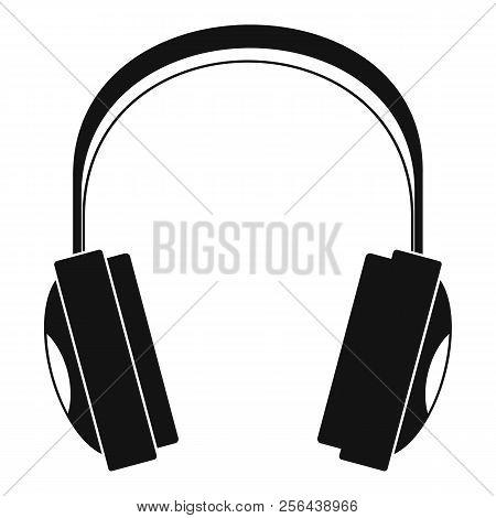 Wireless Headphones Icon. Simple Illustration Of Wireless Headphones Vector Icon For Web Design Isol