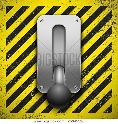 Switch. Vector illustration. Eps10