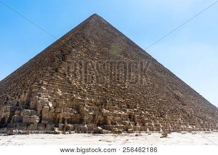 Big Cheops Pyramid - Giza Cairo Egypt
