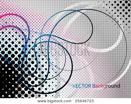Abstract grunge background, vector illustration