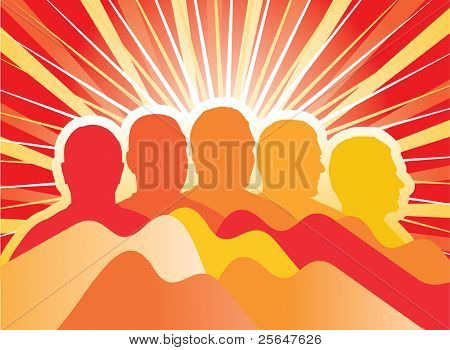 Artistic background. For more cool vectors see my gallery.