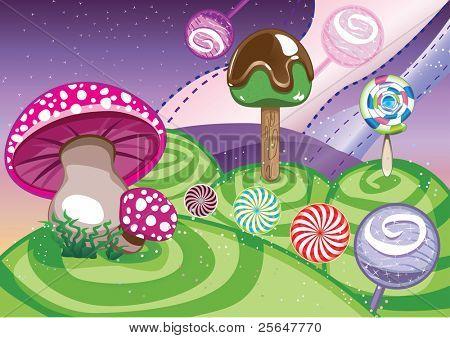 lollipop world