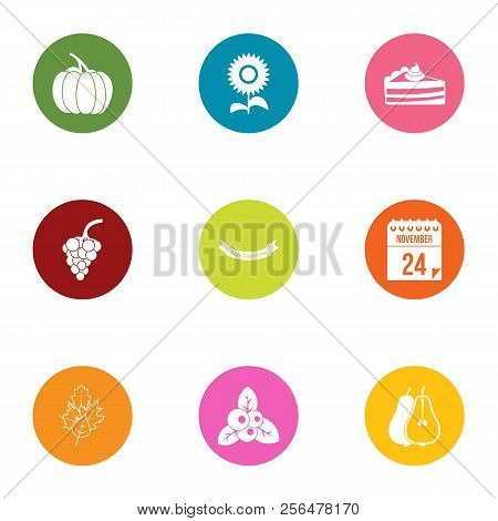 Yield Icons Set. Flat Set Of 9 Yield Vector Icons For Web Isolated On White Background