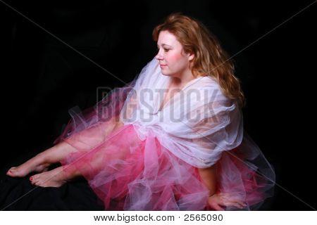Dancer Taking A Break