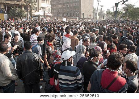 22 November 2011: Clashes in Egypt