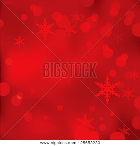 Abstract red Christmas and New Year background.