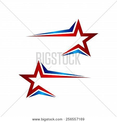 Star Color Vector Logo,abstract Star Color Icon, Star Rating, Rank. Star Astrology Symbol. Star Icon