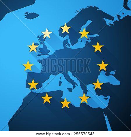 Map Europe European Vector & Photo (Free Trial) | Bigstock