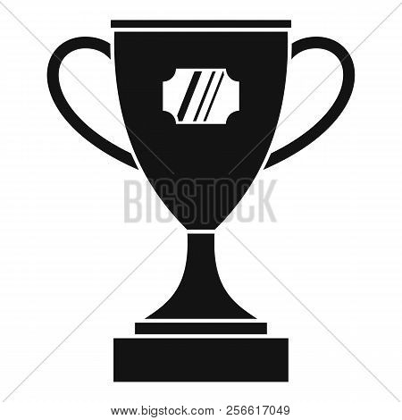 Winner Cup Icon. Simple Illustration Of Winner Cup Icon For Web