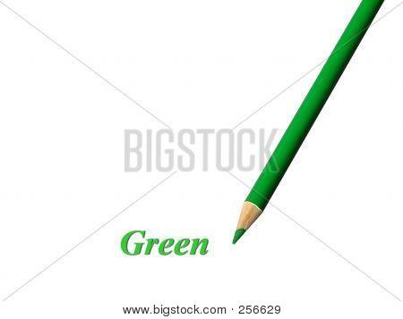 Green Pencil
