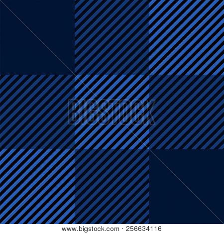 Tartan Seamless Colored Pattern Background, Vector Illustration