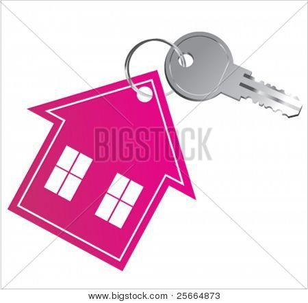 house key (2) vector