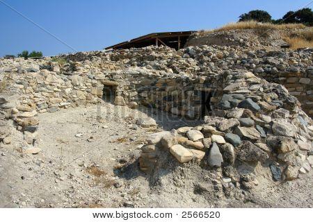 Choirokoitia Archaeological Site Cyprus