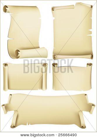 set of old paper