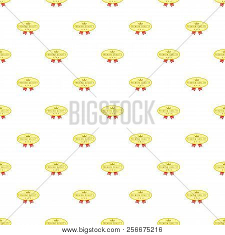 Label Best Price One Hundred Percent Pattern. Cartoon Illustration Of Label Best Price One Hundred P