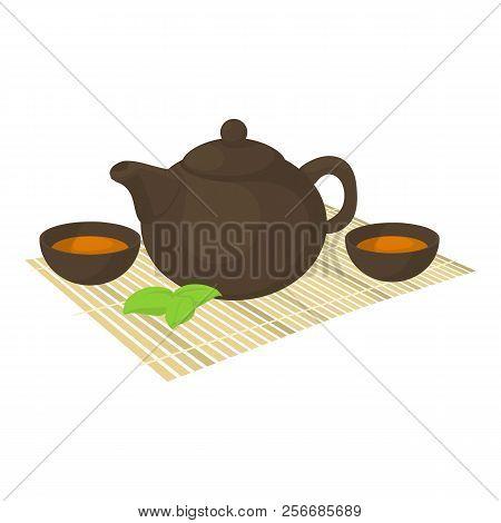 Tea Ceremony Icon. Cartoon Illustration Of Tea Ceremony Icon For Web
