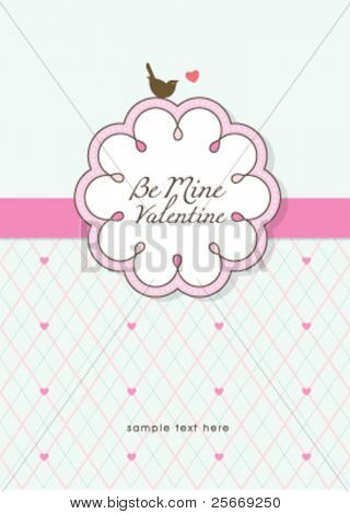 sweet and lovely card design