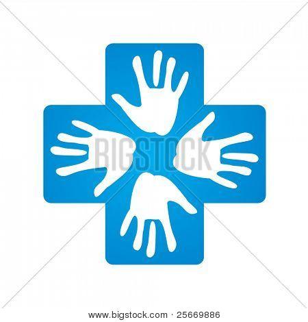 Melden Sie eine helfende hand