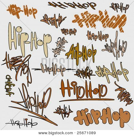 hip hop urban vector