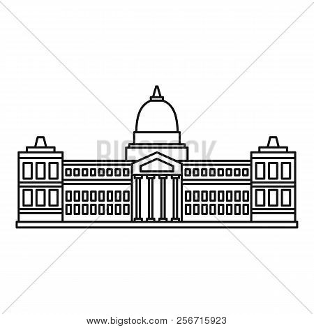 Palace Of Congress, Buenos Aires Icon. Outline Illustration Of Palace Of Congress, Buenos Aires Icon