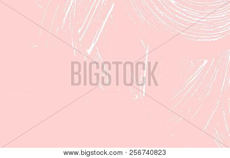 Grunge Texture. Distress Pink Rough Trace. Glamorous Background. Noise Dirty Grunge Texture. Adorabl