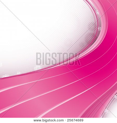 Abstract pink strips