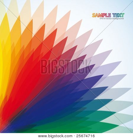 Abstract multi-colored background