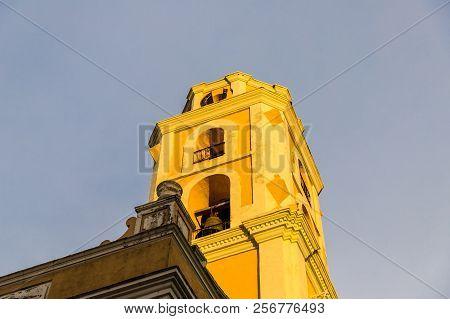 Trinidad Cuba. January 2018. A View Of Convento De San Francisco De Asis In Trinidad, Cuba.