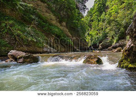 Beautiful View Of Guam Gorge, Krasnodar Russia