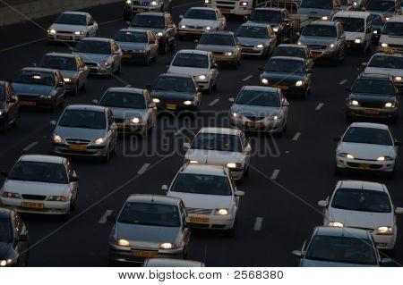 Heavy Traffic Closeup