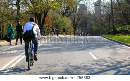 Exercising In Central Park 2