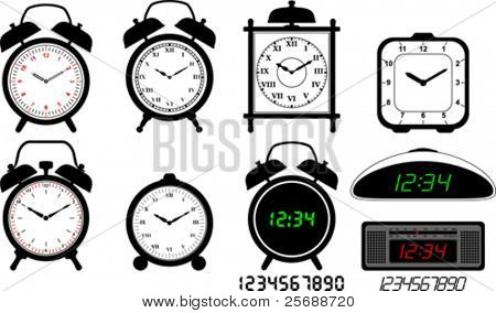 Alarm clocks collection