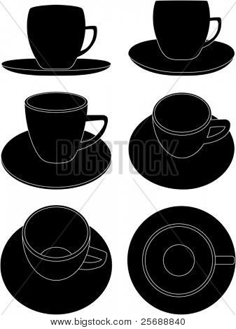 coffee cups-6 views