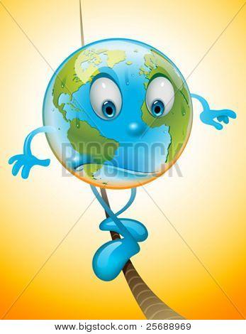 Balanced Earth avoiding global warming