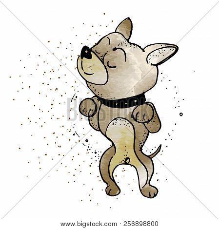 Cartoon Dog Dreaming Vector & Photo (Free Trial) | Bigstock